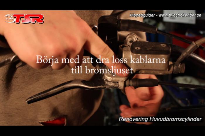 guide huvudbromscylinder - bild 1