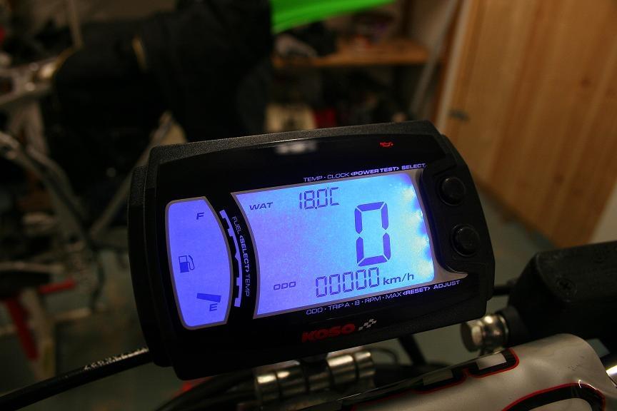 digital hastighetsmätare moped