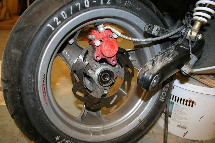 Bromssystem moped pa