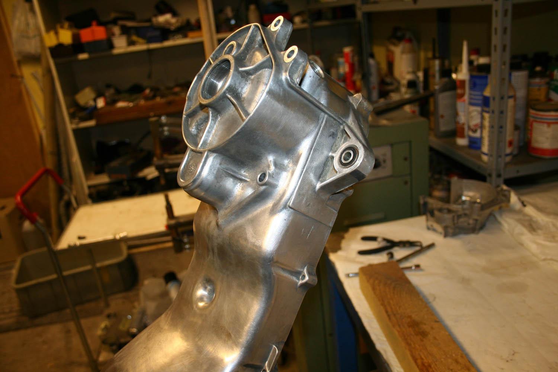 polera oxiderad aluminium