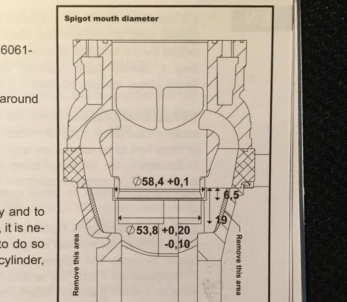 guide slipa porta block r/t95 - bild 5